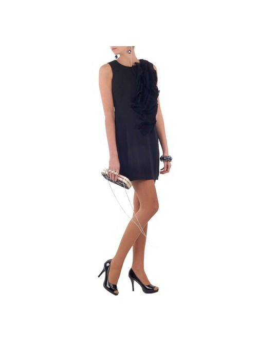 Sukienka z żabotem