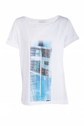 T-shirt Kanu White