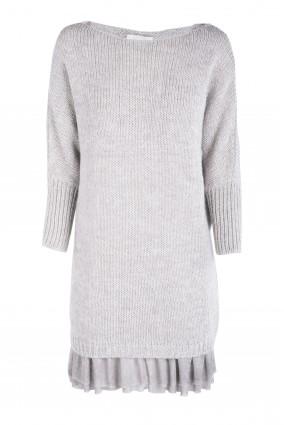 Sweter Anabe Jasny szary