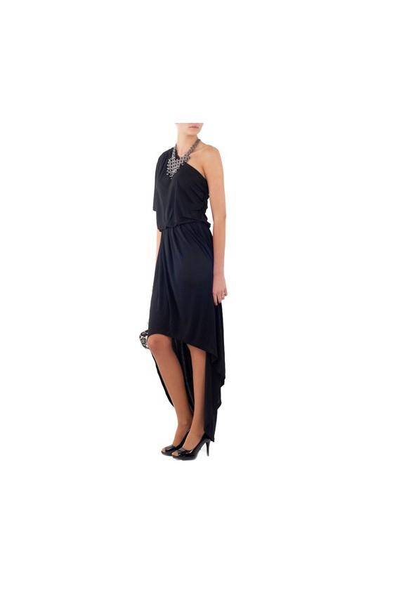 Sukienka Długa Asymetryczna