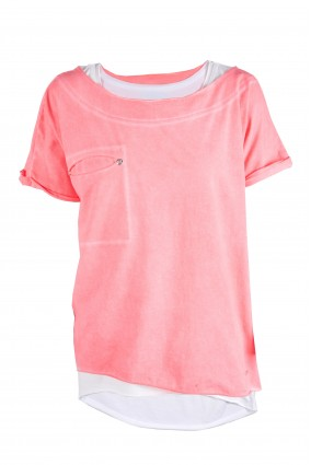T-shirt Twin Koral