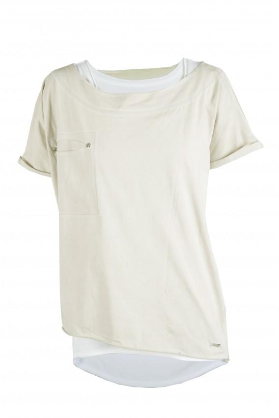 T-shirt Twin Zielony