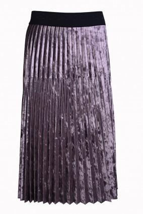 Spódnica Plissa Mocca