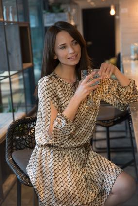 Sukienka na wesele Rumba_Beżowa