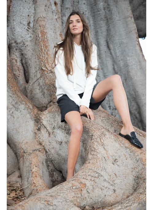 Biała bawełniana bluza na wakacje Galaxy_anataka