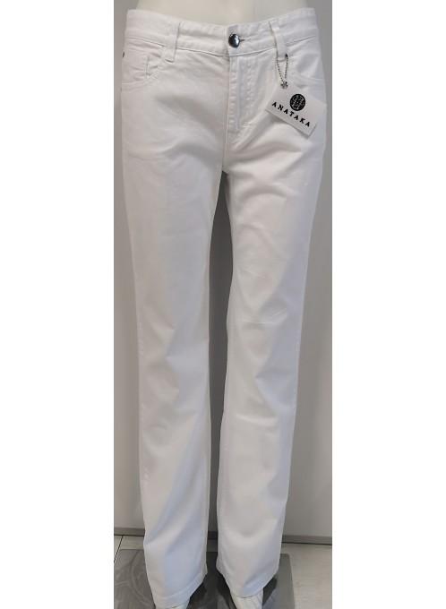 Spodnie Jeans Białe