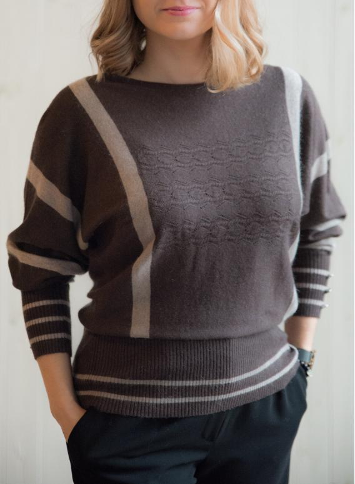 Sweter 2125 Brown
