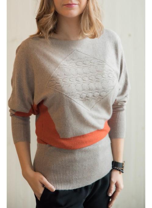 Sweter 2123 Beige