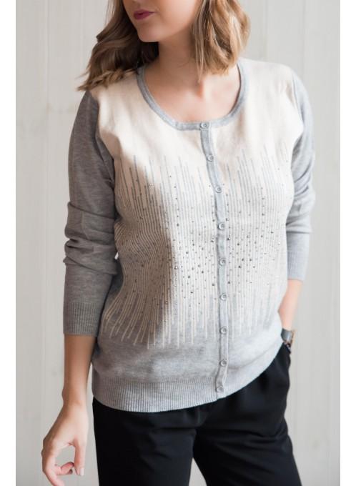 Sweter Karlo Grey