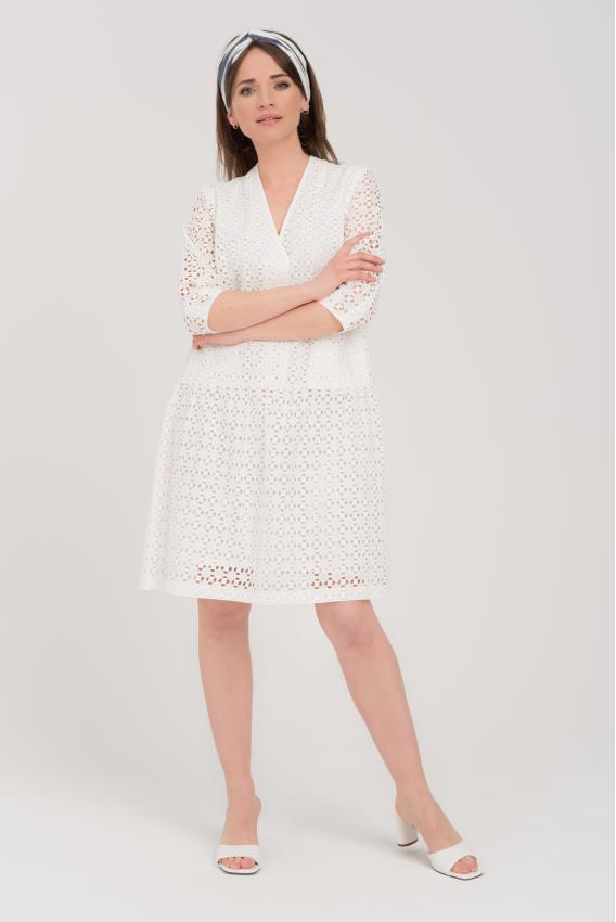 Sukienka bawełniana eleni biała
