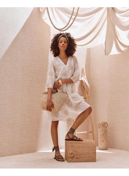 Letnia sukienka Zola biała