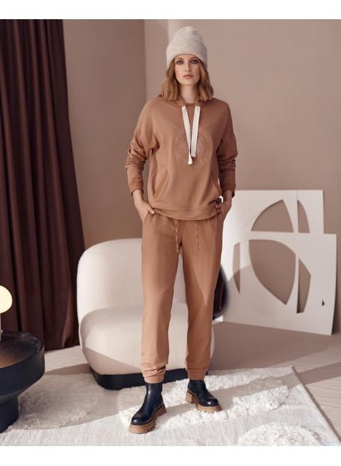 Spodnie Comfort Camel
