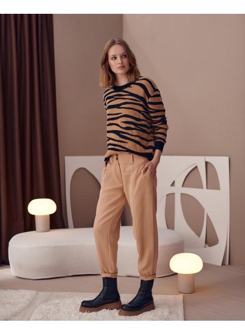 Spodnie z lyocellu Ringo