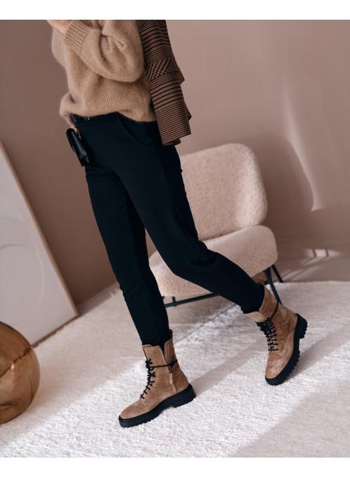 Spodnie kombu czarne